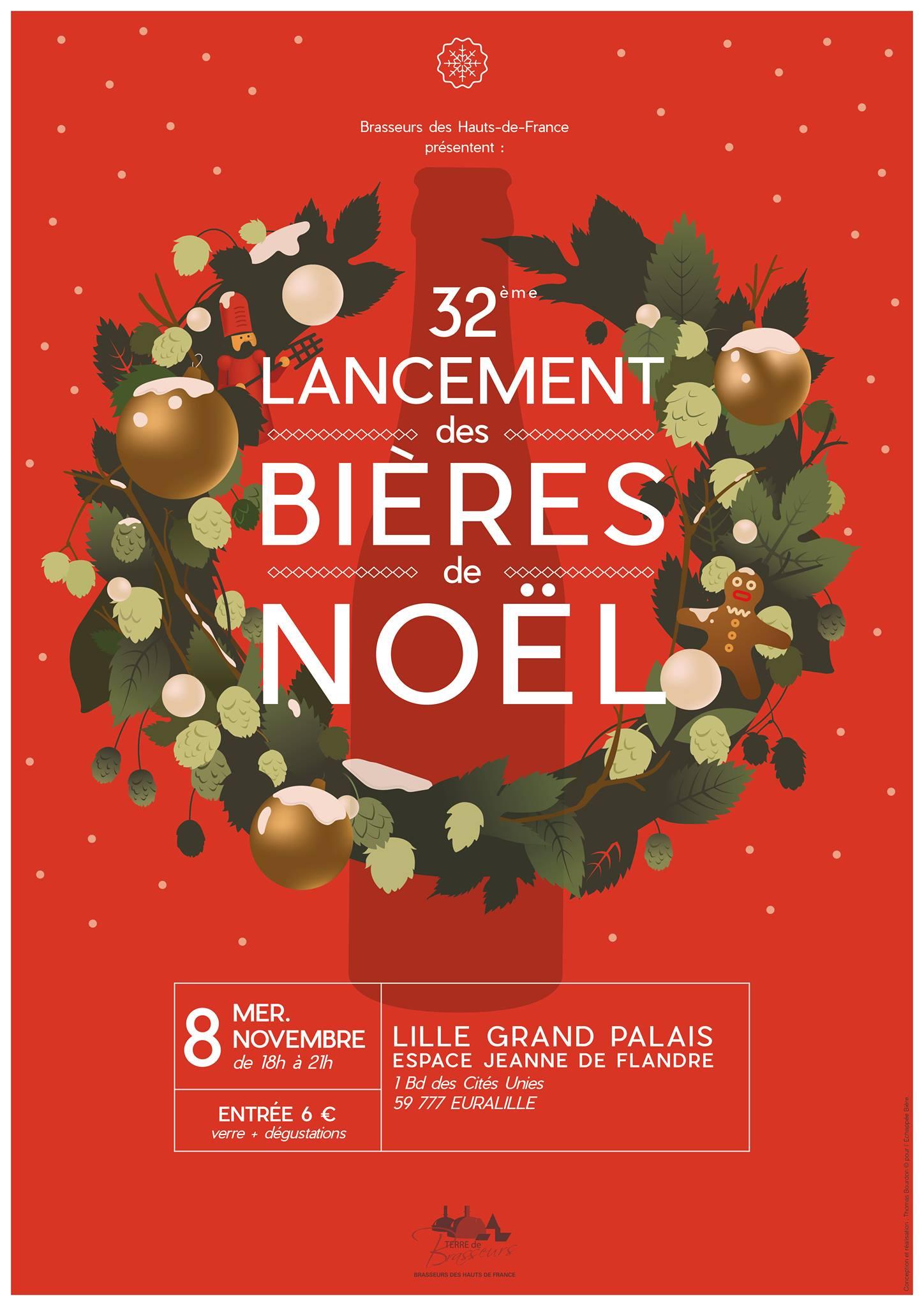 bieres de noel 32ème lancement des Bières de Noël   Les amis de la bière bieres de noel