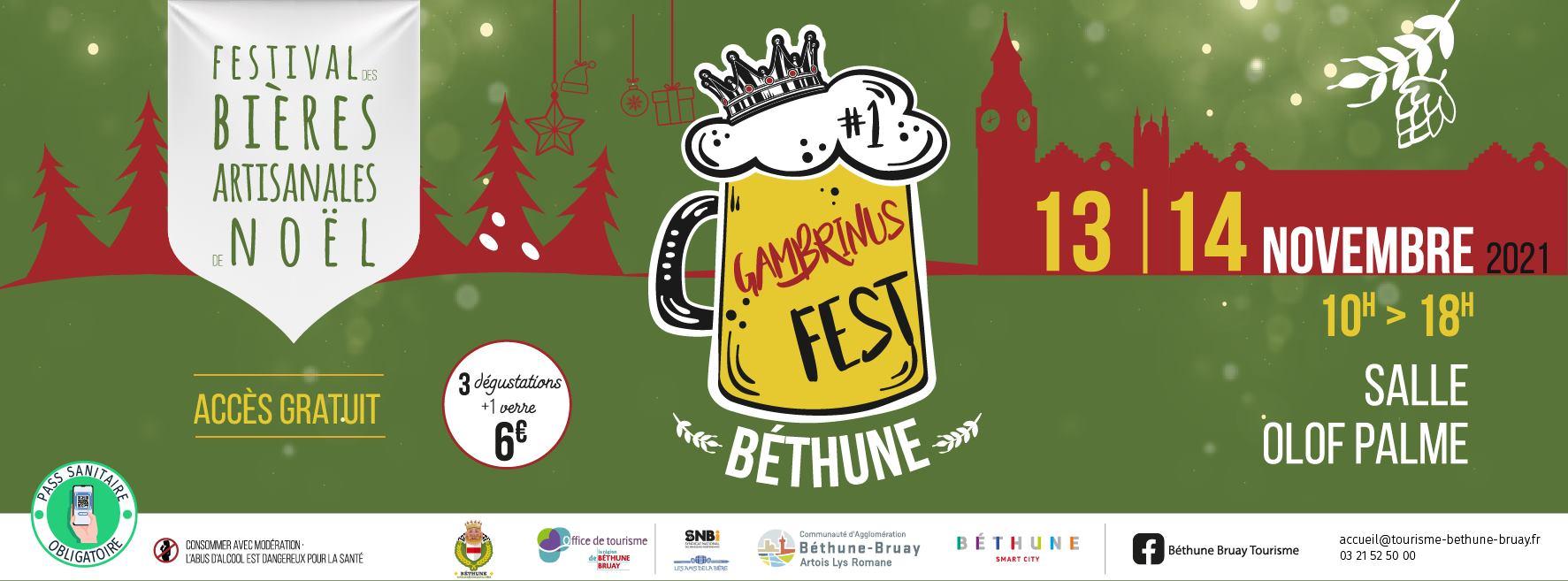 Festival des bières artisanales de Noël à Béthune @ Bethune